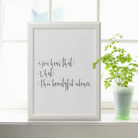 Print Printable Wall Art Motivational Print Printable Quote Modern Wall Art Downloadable Print Love Quote Printable Quote Art TYPOGRAPHY ART