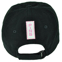 PING Golf Equipment Women Relaxed Slouch Black Ladies Hat Cap Velcro Golfing