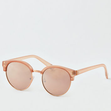 Rose Round Sunglasses, Rose Gold