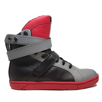 Infrared/Grey Super Shift High Top Sneaker