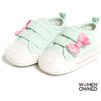 Walmart: Child of Mine by Carters Newborn Baby Girl Dot Sneakers
