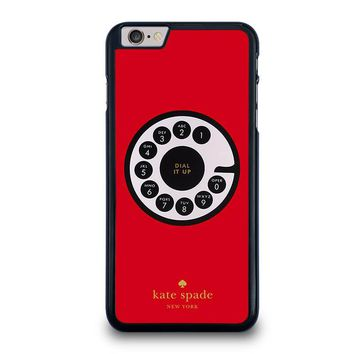 KATE SPADE ROTARY DIAL UP iPhone 6 / 6S Plus Case Cover