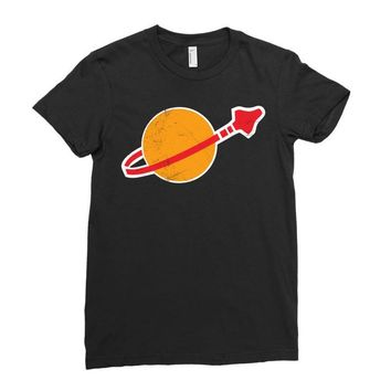 Lego Space Vintage Ladies Fitted T-Shirt
