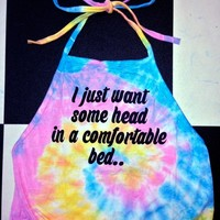 SWEET LORD O'MIGHTY! I JUST WANT SOME HEAD TIEDYE HALTER