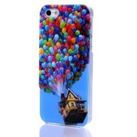Up iPhone 5 5S 3D Hard Plastic Case with Dual-layer Technology Pixar Cartoon Movie