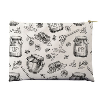 Honey Bee Sweet Pouch