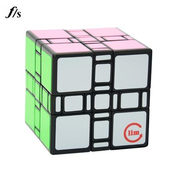 Fangshi 3*3*3 Mixup Transparent,unstickered 3x3x3 Mixup Puzzle Cubes Educational Toy Special Toys For Children Drop Shipping