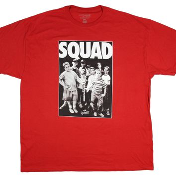 The Sandlot T Shirt Men's #Squad Hashtag Baseball Graphic Tee
