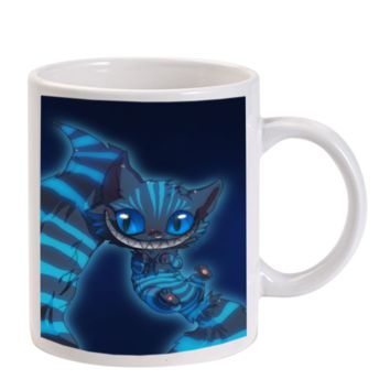 Gift Mugs | Alice In Wonderland Chershire Cat Ceramic Coffee Mugs