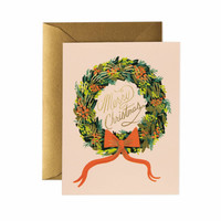 Christmas Wreath Card Set