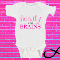Beauty and Brains Gerber Onesuit ®