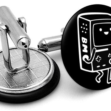 Adventure Time Beemo BMO Cufflinks