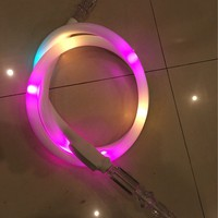 Fashionable LED Luminous Dazzling Multicolor Hookah Narguile Shisha Pipe Tube Accessories for Smoking Tobacco Herb