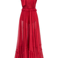 Zyna Mousseline Dress | Moda Operandi