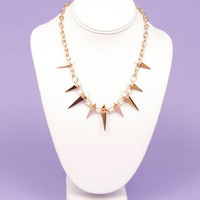 Spiked Necklace $14
