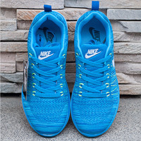 """Nike"" Fashion Breathable Sneakers Sport Shoes Blue"