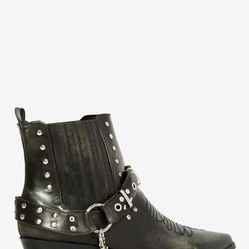 YRU Laso Vegan Leather Boot