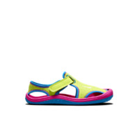 Nike Sunray Protect (10.5c-3y) Pre-School Girls' Sandal Size 11C (Yellow)