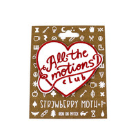 All The Emotions Club Iron-On Patch
