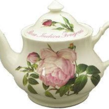 6C Versailles English Bone China Teapot