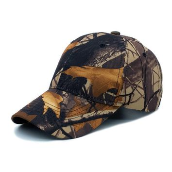 Brown Camouflage Cute, Graphic, Cool Baseball Caps