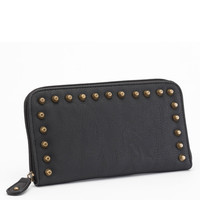 Rock Rebel Stella Black Wallet