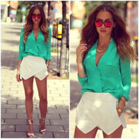 Its a Skort Story - White