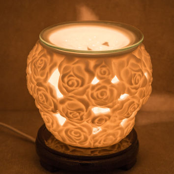 Sacred Rose Electric Aroma Lamp