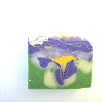 WISTERIA Beautiful floral soap scented handmade by SoapForYourSoul
