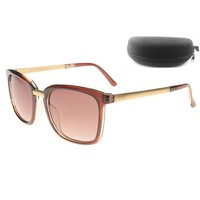 ONETOW Perfect Gucci Women Fashion Sunglasses Popular Summer Style Sun Shades Eyeglasses Glasses Sunglasses