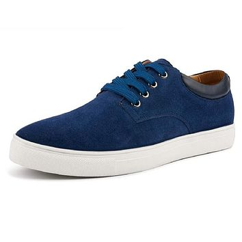 Men Shoes Suede Leather High Quality Fashion Men's Casual Shoes European Style Mens Shoes Flats Oxfords