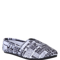 Harry Potter Newspaper Slip-On Shoe