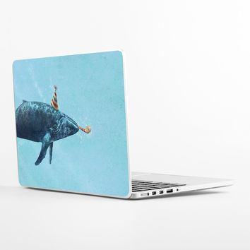 Party Whale Laptop Skin