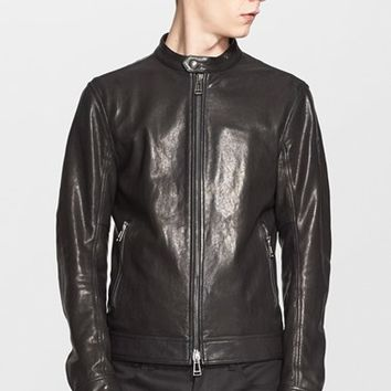 Men's Belstaff 'Grandston' Leather Moto Jacket