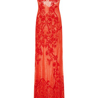 Piled Sequin Maxi Slip Dress | Moda Operandi