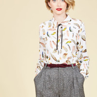 Fly the Knot Top | Mod Retro Vintage Short Sleeve Shirts | ModCloth.com