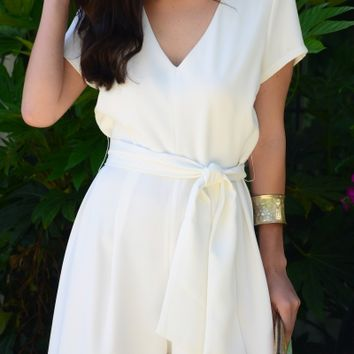 Kelly Jumpsuit, Off White