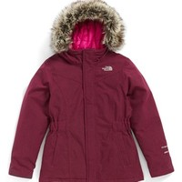 The North Face Girl's 'Greenland' Waterproof Down Jacket,