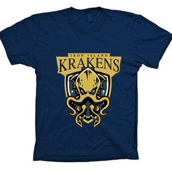 Game of Thrones Iron Island Krakens T-Shirt