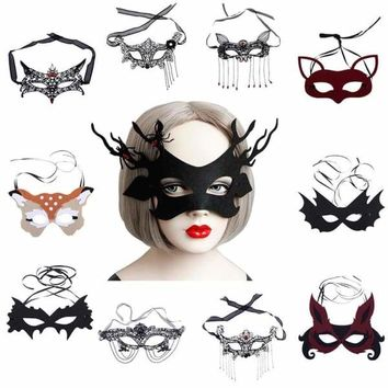 Lace Half Face Ball Party Mask Universal Face Decoration Party Costume Cosplay Ball Performance Carnival Masquerade Masks Macchar Cosplay Catalogue