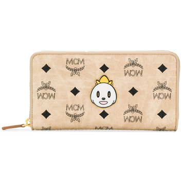 MCM Loveless Zip Around Wallet - Farfetch