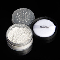 Magic Halo  Oil Control Loose Powder Long Lasting Face Skin Brightening Translucent Powder HT