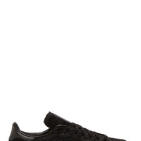 Adidas Originals X Opening Ceremony Black Calf Hair Stan Smith Sneakers
