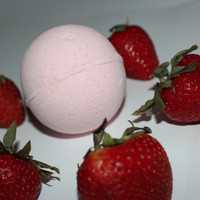 Strawberry Bath Bomb