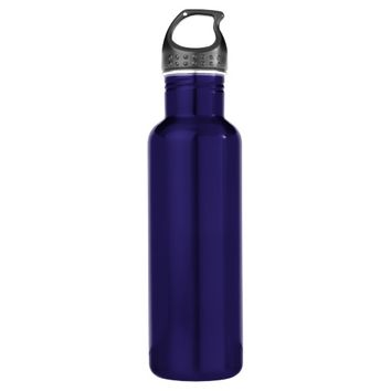 Blue Stainless Steel Water Bottle Add Own 24oz Water Bottle