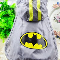 2015 new spring and summer dog clothes pet clothing Batman Cape free transportation XS-XXL