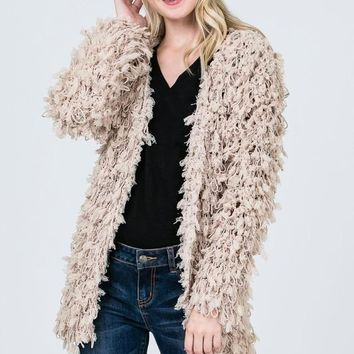 Emily Cardi in Taupe