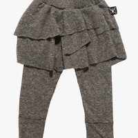 Nununu Leggings Skirt In Grey - NU0636