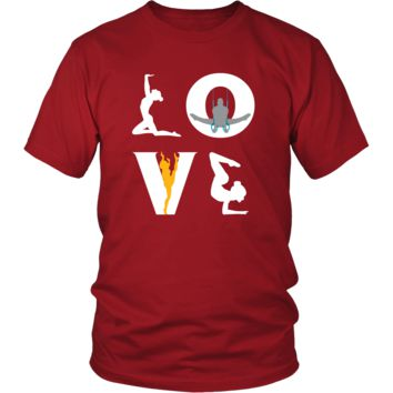 Gymnastics - LOVE Gymnastics  - Sport Player Shirt
