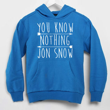 You Know Nothing Jon Snow populer hoodie for mens and women by USA